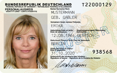 European R New Rfid Big Card Citizen – Here ecc Is German f No Id Electronic Card id Brother
